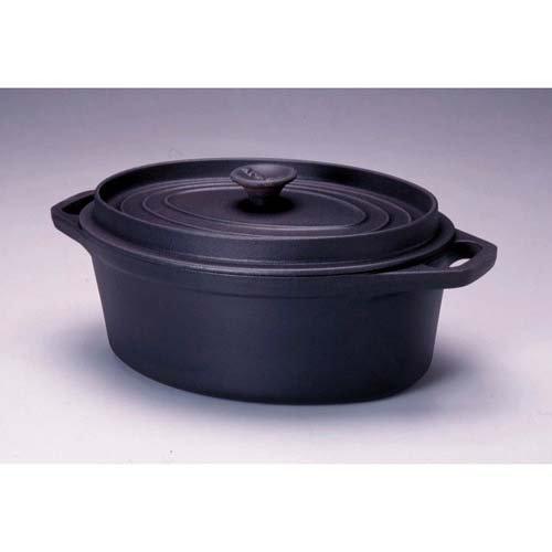 INVICTA – NOIR COCOTTE MIJOTEUSE OVALE 33 CM – INVICTA – FDS-316926